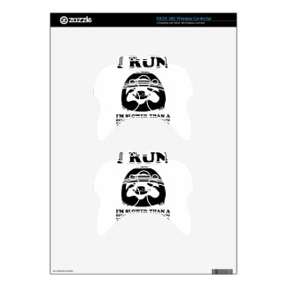 Run Like A Sloth Xbox 360 Controller Decal
