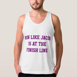 Run Like Jacob is at the Finish Line Shirt