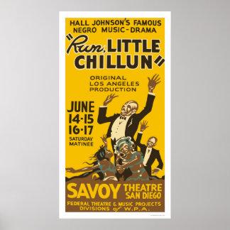 Run Little Chillun 1940 WPA Print