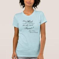 Run Mad as often as you choose Jane Austen T-Shirt