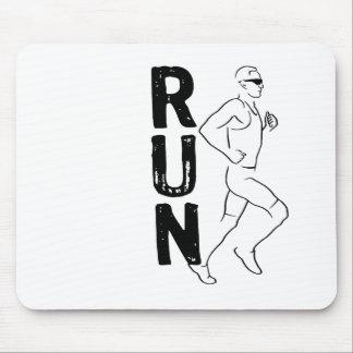 RUN Man Mouse Pad