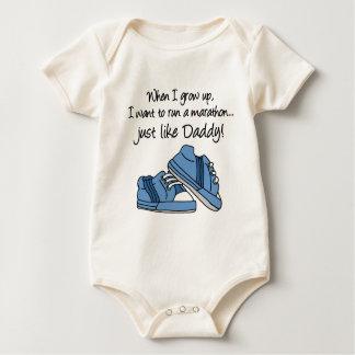 Run Marathon Just Like Daddy Creeper