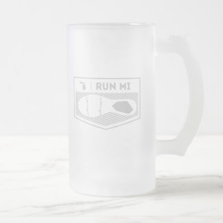 Run MI Beer Mug