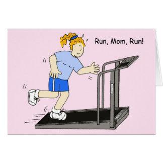 Run, Mom, Run Card