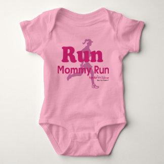 Run Mommy Run Baby Bodysuit