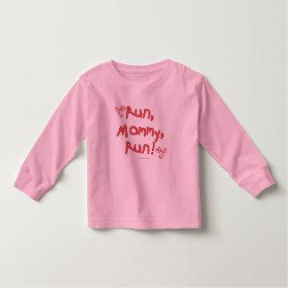 Run Mommy Run - Pink Toddler T-shirt