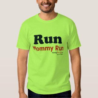 Run Mommy Run - Run for Sam Tee Shirt