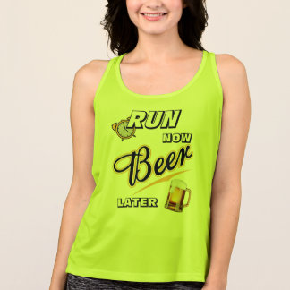 Run Now Beer Later - All Sport Tank Top