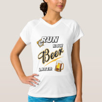 Run Now Beer Later Champion SS T-Shirt