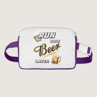 Run Now Beer Later Fanny Pack