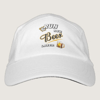 Run Now Beer Later Hat