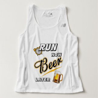 Run Now Beer Later New Balance Tank Top