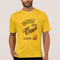 Run Now Beer Later Sport-Tek SS T-Shirt