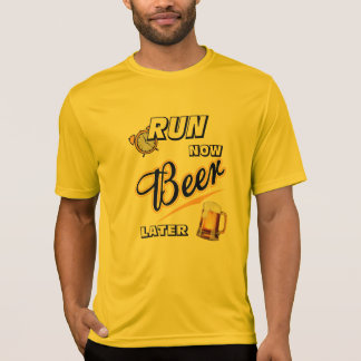 Run Now Beer Later Sport-Tek SS T-Shirt