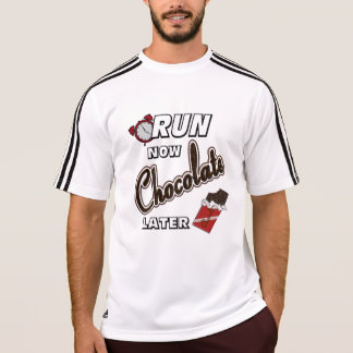 Run Now Chocolate Later Adidas SS T-Shirt