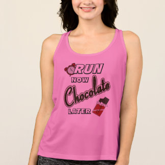 Run Now Chocolate Later All Sport Tank Top