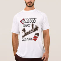 Run Now Chocolate Later Champion SS T-Shirt