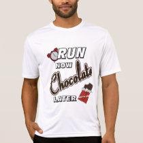 Run Now Chocolate Later Sport-Tek SS T-Shirt