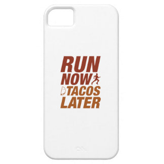 Run Now Tacos Later iPhone SE/5/5s Case