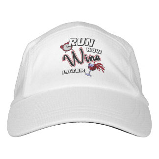 Run Now Wine Later Hat
