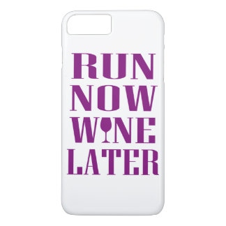 Run Now Wine Later iPhone 8 Plus/7 Plus Case