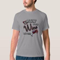 Run Now Wine Later New Balance SS T-shirt