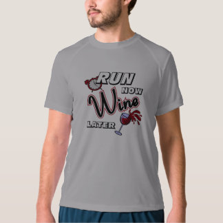 Run Now Wine Later New Balance SS T-shirt