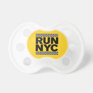 RUN NYC TAXI PACIFIER
