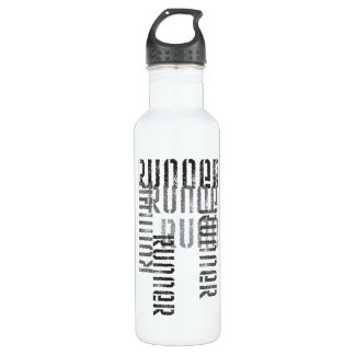 Run Off Stainless Steel Water Bottle