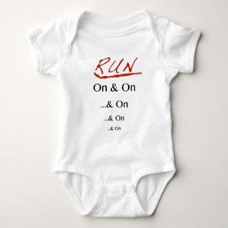 Run On & On Baby Bodysuit