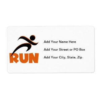 RUN Orange Label