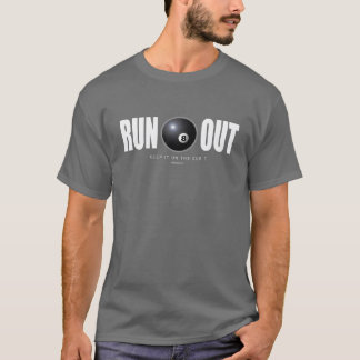 Run Out Billiards T-Shirt