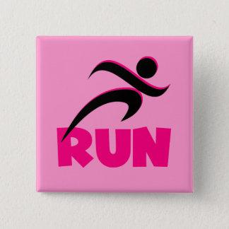 RUN Pink Button