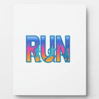 RUN PHOTO PLAQUES