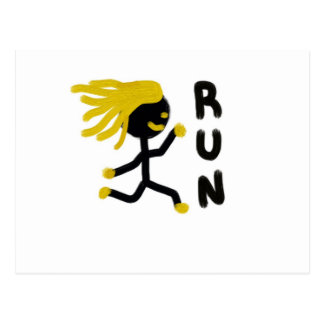 Run Postcard