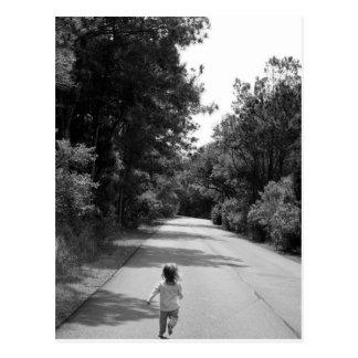Run! Postcard