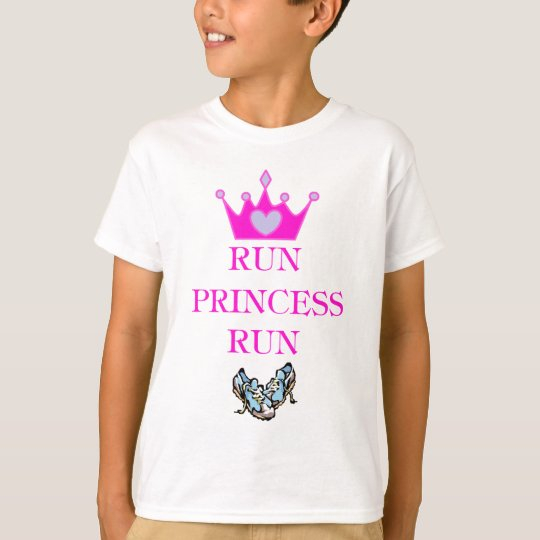 Run Princess Run T-Shirt