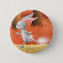 Run rabbit - pin badge