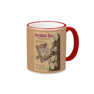 Run Rabbit Run Ringer Coffee Mug