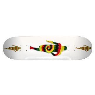 Run Rasta Run Skateboard