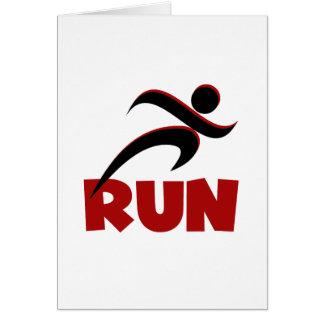 RUN Red Card