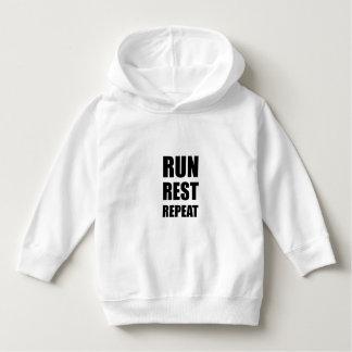 Run Rest Repeat Hoodie