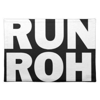 Run ROH American MoJo Placemat
