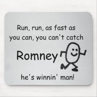 Run, run, as fast as you can... mouse pad