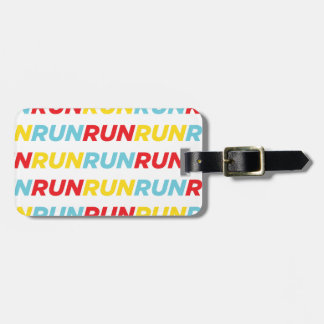 Run Run Run Bag Tag