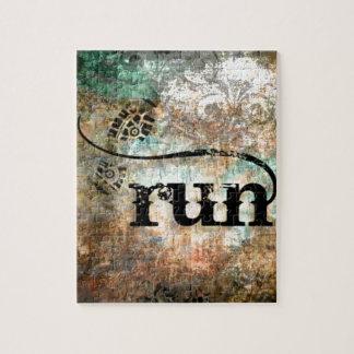 Run/Runner by Vetro Jewelry Jigsaw Puzzle