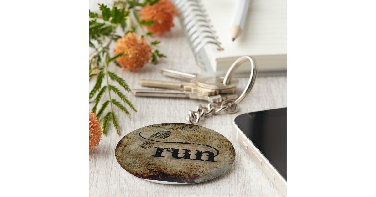 Run runner by vetro jewelry keychain zazzle for Rj jewelry loan company