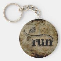 Run/Runner by Vetro Jewelry Keychain