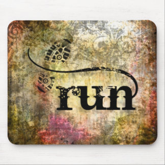 Run/Runner by Vetro Jewelry Mouse Pad