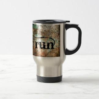 Run/Runner by Vetro Jewelry Travel Mug